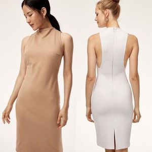 Aritzia Babaton Matheson Dress In Nude